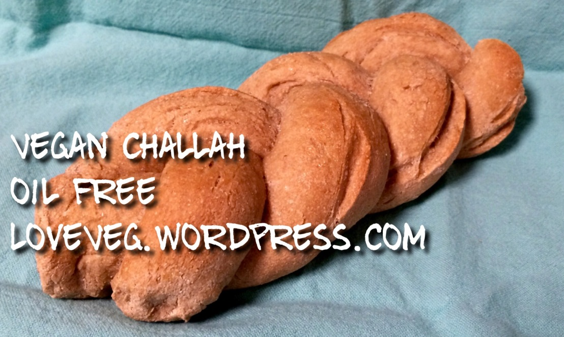 Vegan Challah, oilfree